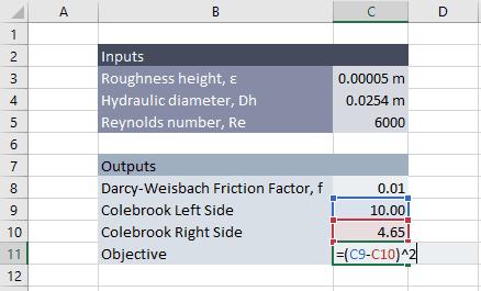 colebrook equation solver