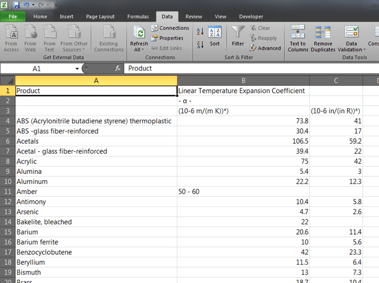 excel 2010 get external data from web
