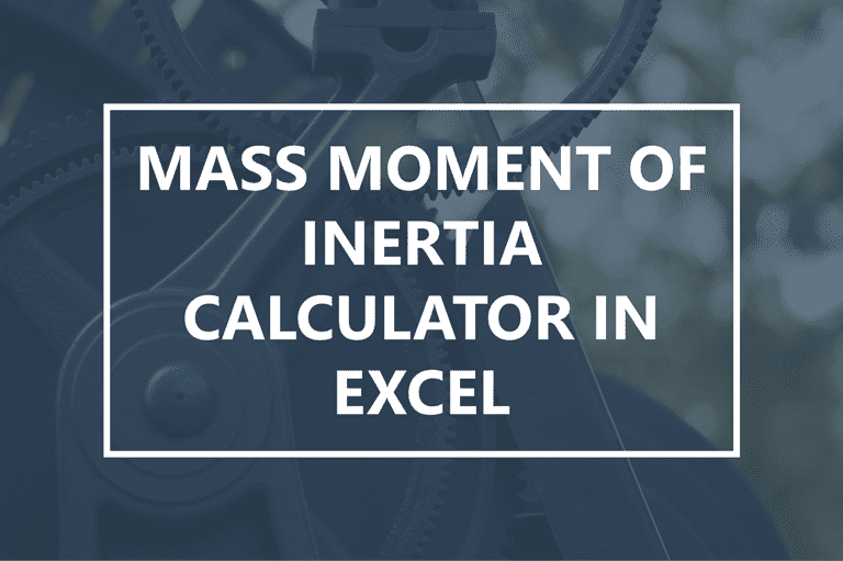 moment of inertia calculator