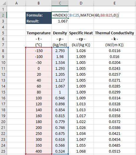 excel index match