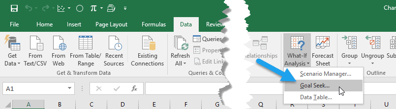how to do iteration in excel